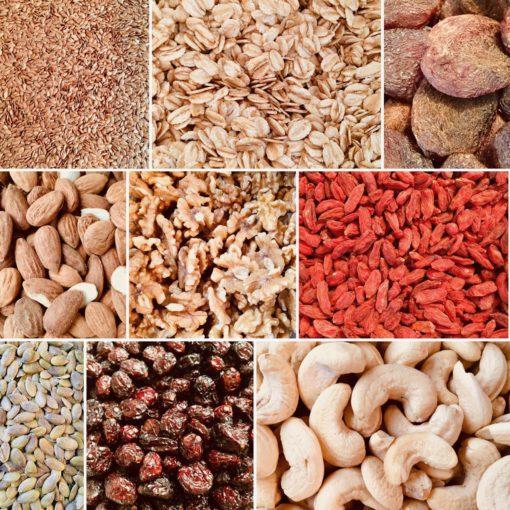 Granola ingrediënten
